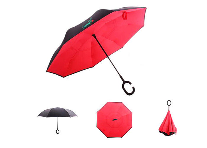 Portable Sun Upside Down Umbrella Mini Folding Budget Promotional Umbrellas
