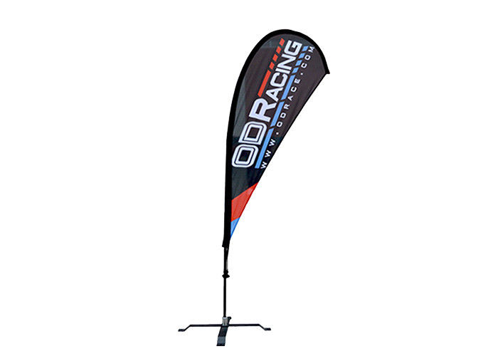 Personalized Outdoor Promotional Flags 170*70cm Portable Custom Feather Flags
