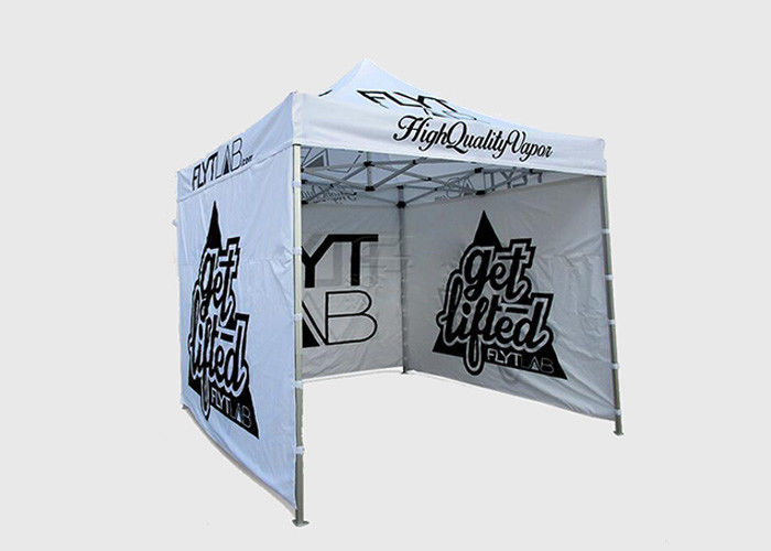 Aluminium Frame Promotional Pop Up Tent Waterproof Fabric For Outdoor Display