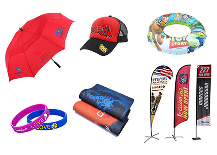 Full Color Printed Promotional Advertising Gifts , Custom Promotional Gifts For Sports